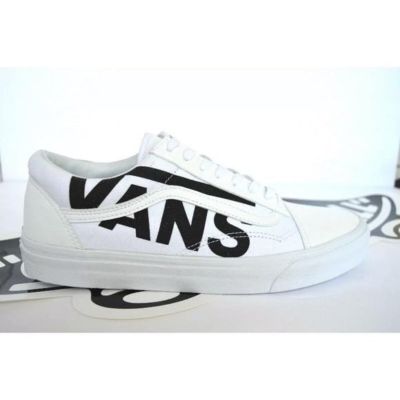 Vans Old Skool True White Sneaker Shoes
